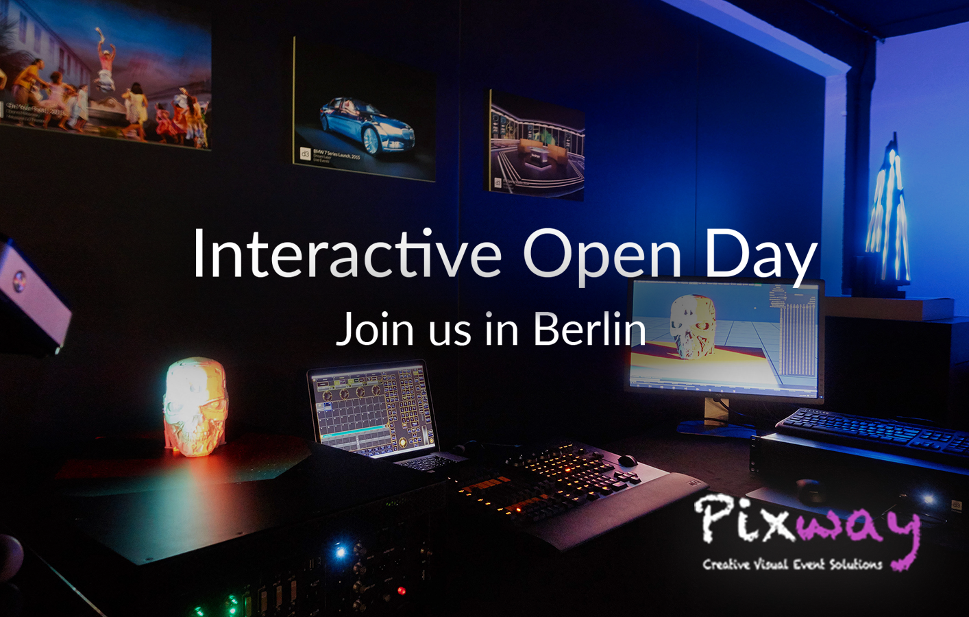 Pixway and disguise - Interactive Open Day in Berlin