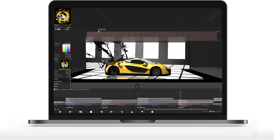 Plan, design and visualise your entire show direct from the desktop.