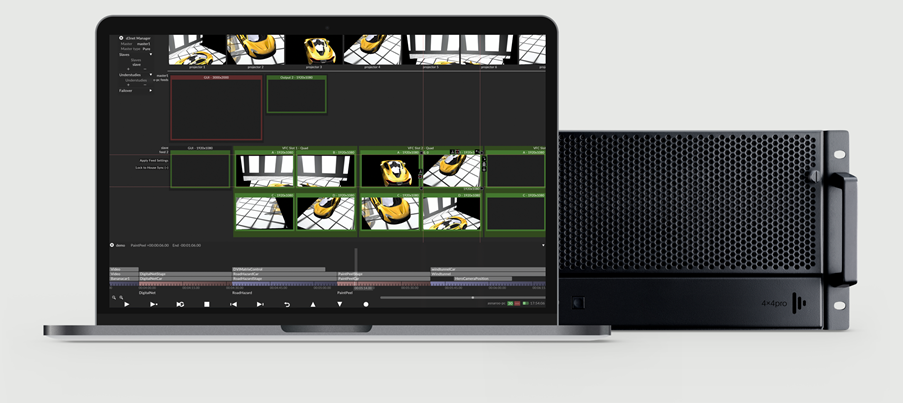 Sync every element of your show to Designer, for precisely the experience you want.