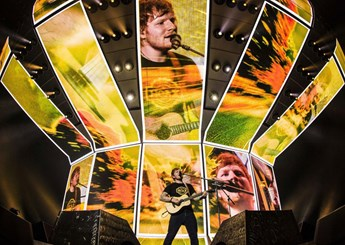Ed Sheeran's Divide Tour upgrades with HDMI VFC cards
