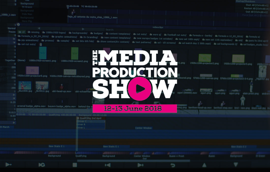 disguise at Media Production Show 2018
