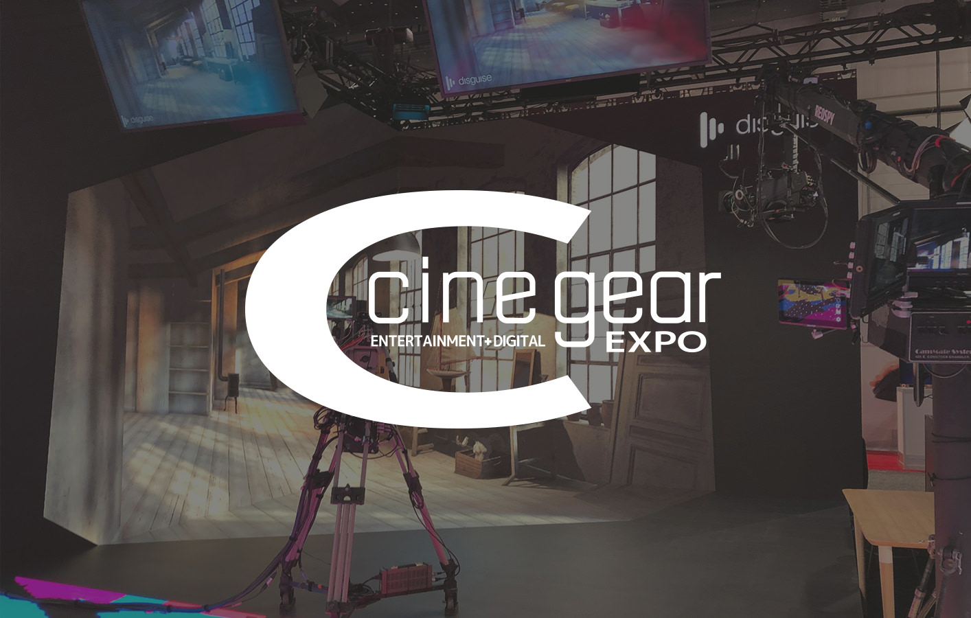disguise at Cine Gear 2019