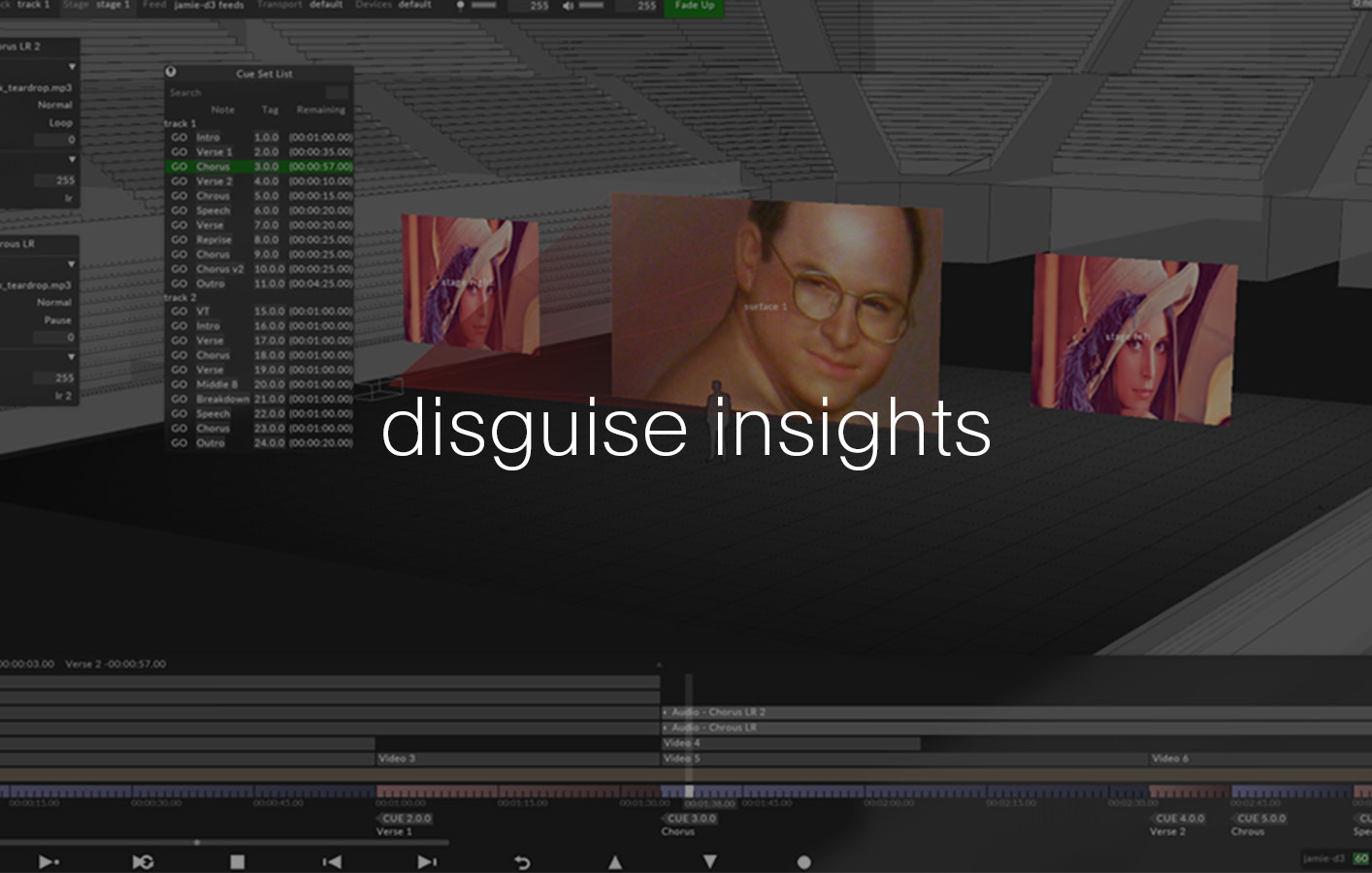 disguise insights - content templates