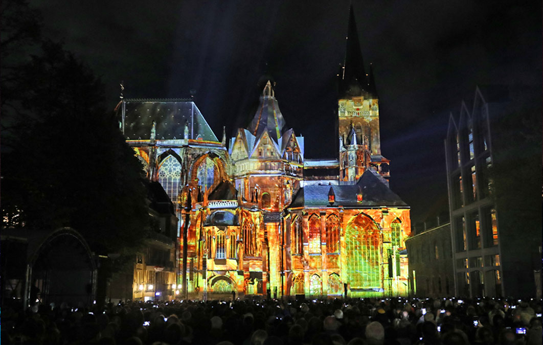 Architectural Mapping of Aachen Cathedral
