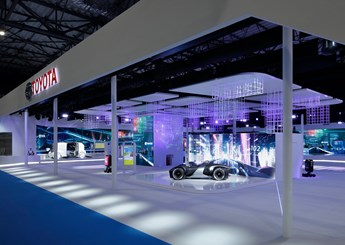 Toyota Booth - Tokyo Motor Show